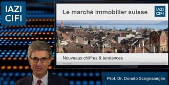 Vidéo – Analyse des nouveaux chiffres et tendances du marché immobilier suisse – 2021- IAZI-CIFI