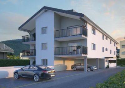 Conthey – Vice-Versa- locatif 15 appartements