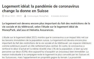 Logement idéal: la pandémie de coronavirus change la donne en Suisse